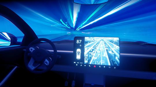Analog Bits SOC Consumer Image - Auto Infotainment System